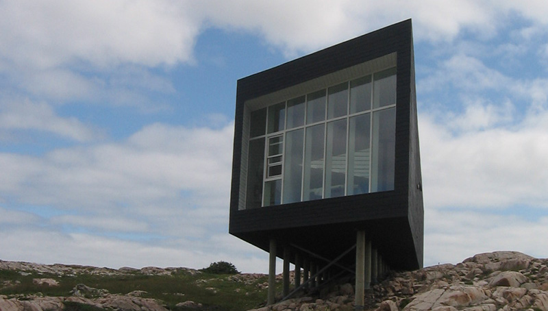 Long Studio, Fogo Island, NL (photo: Fogo Island Arts)